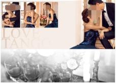 婚紗素材模板下載