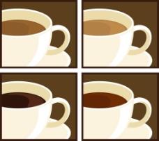 咖啡杯子矢量素材